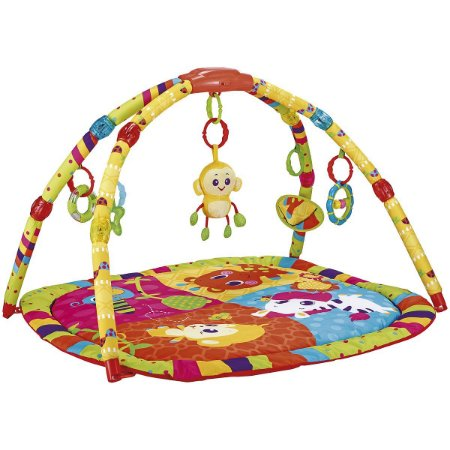 Ginasio e Tapete de Atividades Encantado (+0M) - Colorido - Kiddo