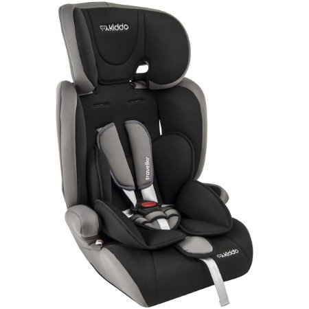 Cadeira para Auto Traveller (até 36 kg) - Preto e Cinza - Kiddo