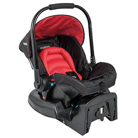 Bebê Conforto com Base Caracol - Vermelho - Kiddo