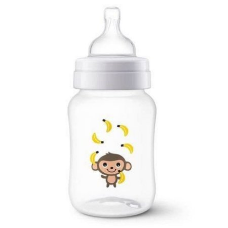 Mamadeira Clássica Anti-Colic 260ml Macaco Philips Avent