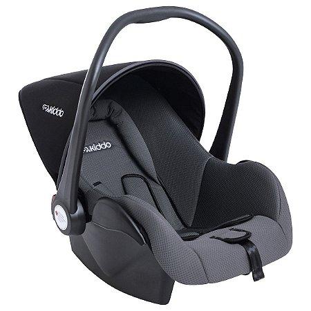 Bebê Conforto Casulo Preto Cinza - Kiddo