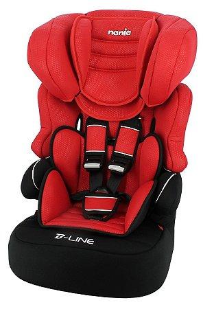 Cadeira para Carro Nania Beline Luxe (até 36 kg) - Rouge - Team Tex