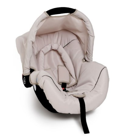 Cadeira Para Bebê Piccolina Preto Bege Preto - Galzerano