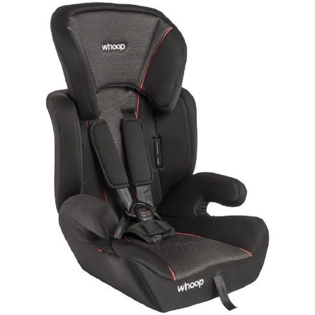 Cadeira para Auto Quest Whoop (até 36 kg) - Preto e Cinza - Kiddo