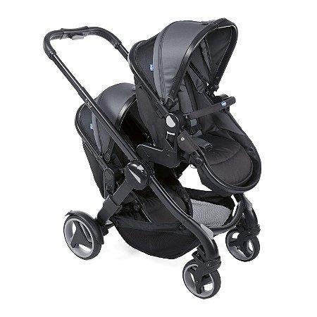 Carrinho de Bebê Para Gêmeos Fully Twin Stone - Chicco