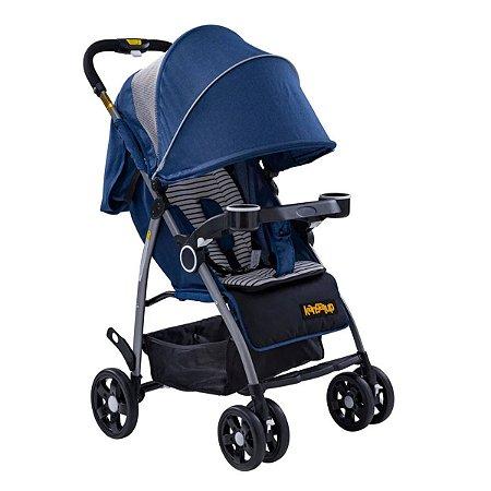 Carrinho de Bebê Hero! - Azul - Kangalup