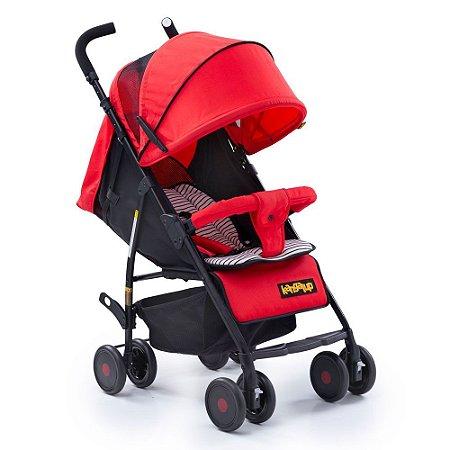 Carrinho de bebê GO! - Vermelho - Kangalup