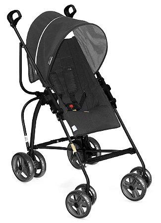 Carrinho de Bebê Campora (até 15 kg) - Preto - Galzerano