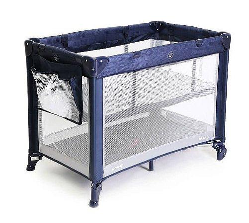 Berço Mini Play (até 15kg) - Net Blue - Safety 1st