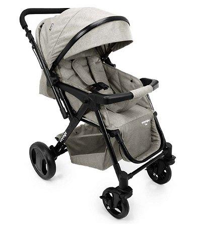 Carrinho de Bebê Trip (até 15 kg) - Bege Mescla - Voyage