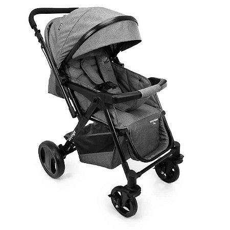 Carrinho Para Bebê Trip -Cinza Mescla - Voyage