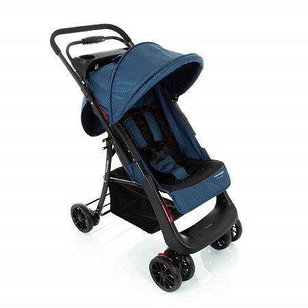 Carrinho de Bebê Change (até 15 kg) - Azul Grid - Voyage