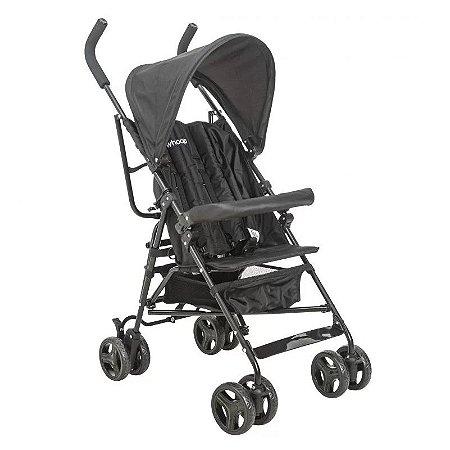 Carrinho de Bebê Torino (até 15 kg) - Preto - Kiddo