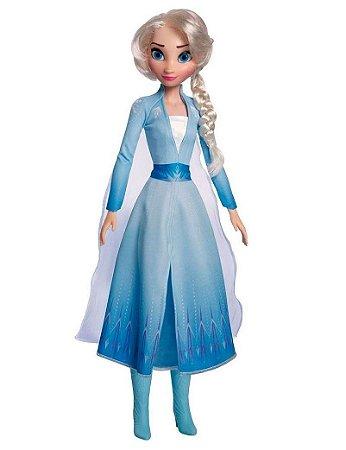 Boneca Disney Elsa 80cm - Frozen 2 - Baby Brink