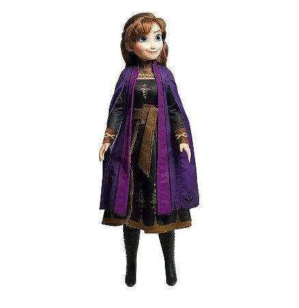 Boneca Mini My Size (+3 anos) - Anna - Frozen - Disney - Novabrink