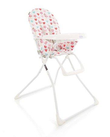 Cadeira de Refeição Kitut 6 meses a 15kg- Flamingo -Voyage