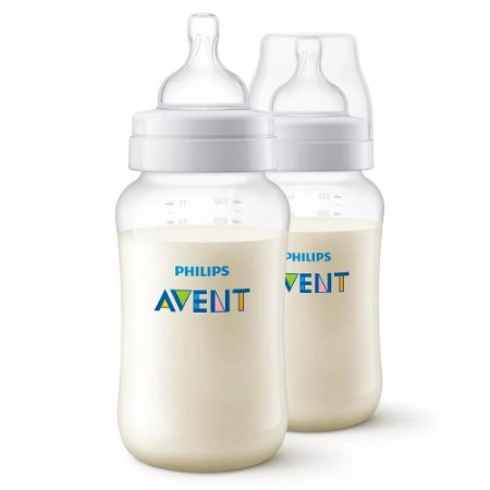 Kit 2 Mamadeiras 260ml Clássica 1m+ Neutra - Philips Avent