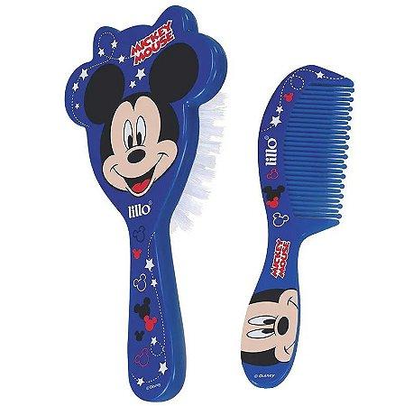 Pente e Escova de Cabelo (+0M) - Mickey - Lillo