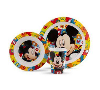 Conjunto de Alimentação (+6M) - Mickey - Lillo