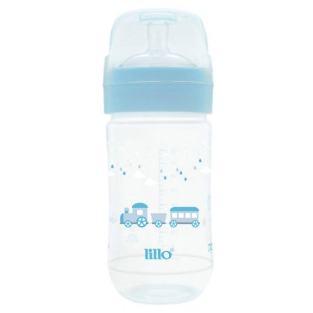Mamadeira Super Evolution 300ml Tam.2 (+6M) - Azul - Lillo