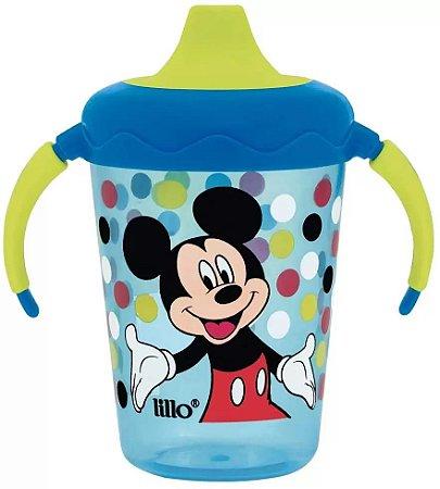 Caneca Anti Vazamento Disney 207 ml(6+m)  Mickey Azul- Lillo