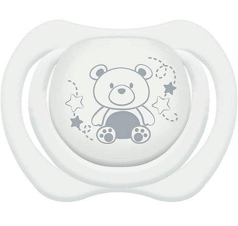 Chupeta Design Tam.1 (+0M) - Ursinho Branco - Lillo