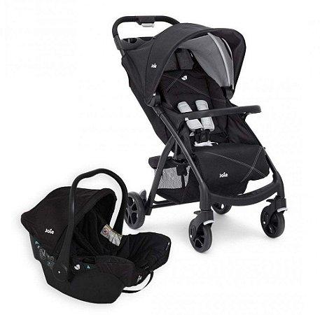 Carrinho de Bebê Travel System Muze Java (até 15 kg) - Preto - Joie