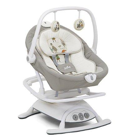 Cadeira de Descanso Sansa 2 in 1 (até 13 kg) - Cinza In The Rain - Joie