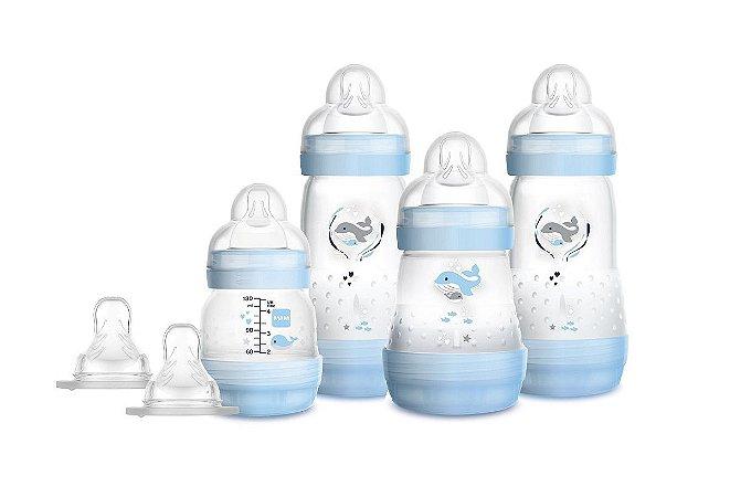 Gift Set de Mamadeira Easy Start (+0M) - Azul -  MAM