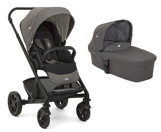 Carrinho de Bebê Chrome (até 22 kg) - Preto - Joie