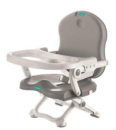 Cadeira de Alimentação Pocket Portátil (até 15 kg) - Cinza - Bebeliê
