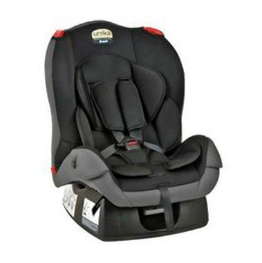 Cadeira para Auto Unika (0 à 25 kg) - Preto e Cinza - Burigotto