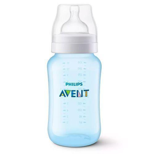 Mamadeira Anti-Cólica 330ml (+3M) - Azul - Philips Avent