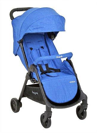 Carrinho de Bebê Genius Blue Denim - Burigotto