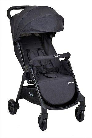 Carrinho de Bebê Genius (até 15 kg) - Preto - Burigotto