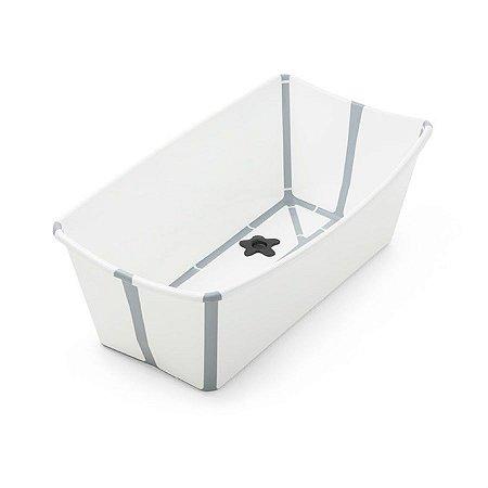 Banheira Flexível Branca com Plug Térmico - Stokke