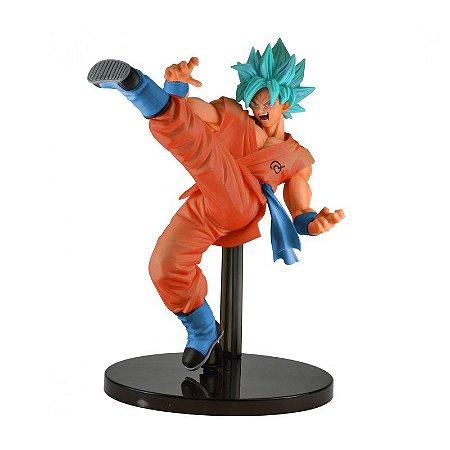 Boneco Dragon Ball Super- Goku Blue Special Original -Bandai