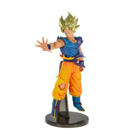 Boneco Dragon Ball - Goku Super Saiyajin Original - Bandai