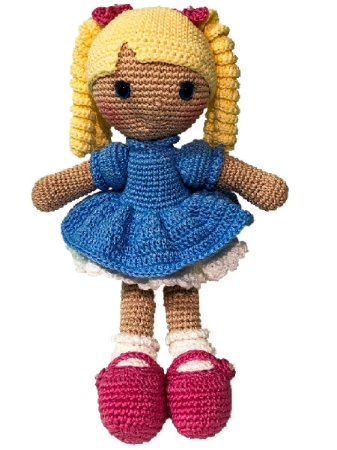 Boneca Amigurumi - Juju - Bella Maria