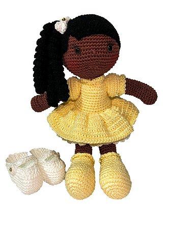 Boneca Amigurumi - Bia - Bella Maria