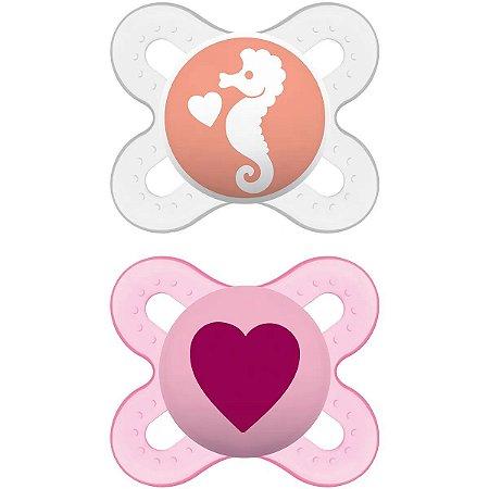 Chupeta Start Rosa Tam 1 (0 - 2 meses) - MAM