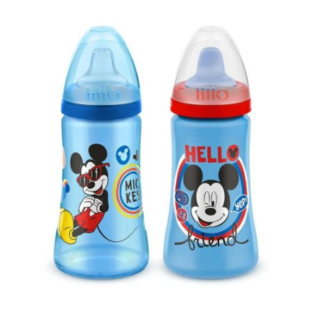 Copo Colors Disney 300 ml - mickey - 2 Unidades - Lillo
