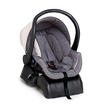 Bebê Conforto Cocoon com Base (até 13 kg) - Grafite e Rosa - Galzerano