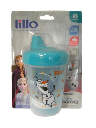 Copo Frozen 2 Olaf 207ml (+6 meses) Anti Vazamento - Lillo