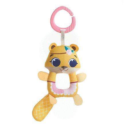 Brinquedo com Chocalho (+0M) - Castor Squeaker Albertina - Tiny Love