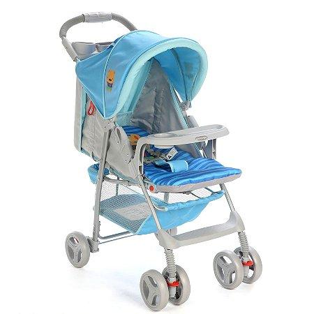 Carrinho de Bebê Fit (até 15 kg) - Azul Puppy - Voyage