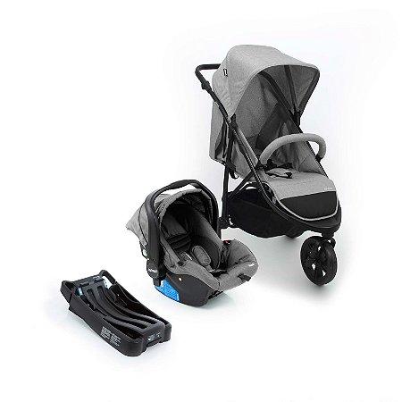 Carrinho de Bebê Travel System Collina Trio (até 15 kg) - Grey Style - Infanti