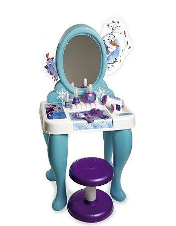 Penteadeira Infantil (+3 anos) - Frozen - Disney - Azul - Novabrink