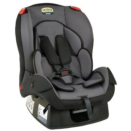 Cadeira para Auto Unika (até 25 kg) - Cinza e Preto - Burigotto