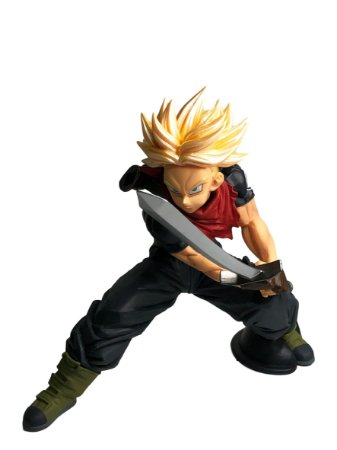 Action Figure - Trunks Saiyan - Dragon Ball - Bandai Banpresto